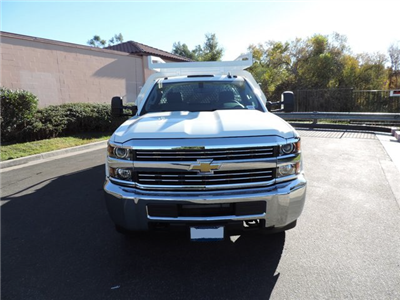 2015 Silverado 3500 Regular Cab 4x2,  Royal Contractor Body #F532906 - photo 3