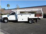 2015 Silverado 3500 Regular Cab 4x2,  Royal Contractor Body #F532906 - photo 4