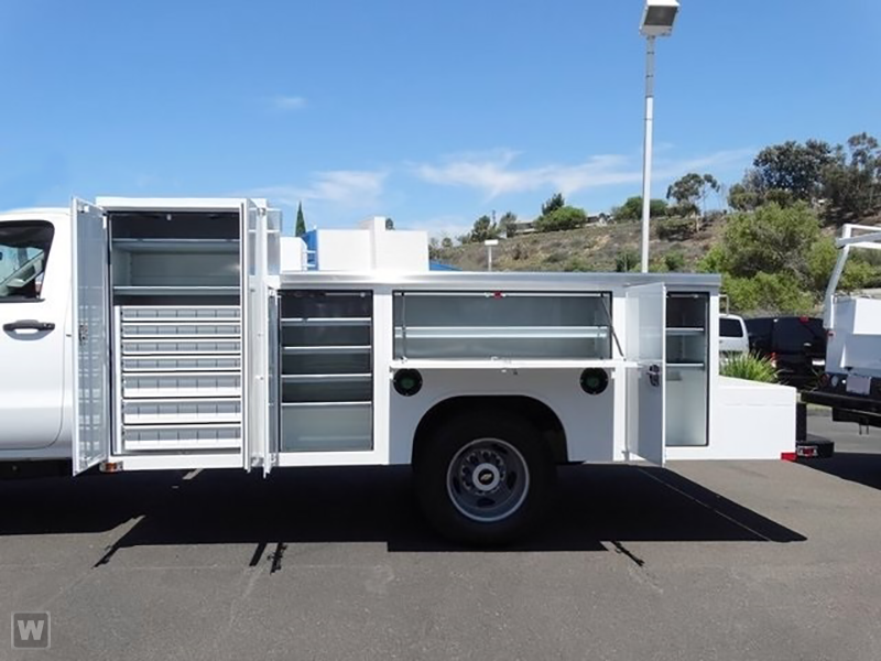 2015 Silverado 3500 Regular Cab, Harbor Welder Body #F618671 - photo 5