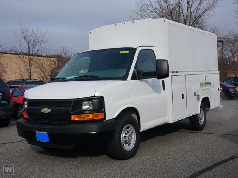 2014 Express 3500, Reading Aluminum CSV Service Utility Van #REA1192148 - photo 1