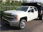2015 Silverado 3500 Crew Cab 4x4, Reading Landscape Dump #REAF586242 - photo 1