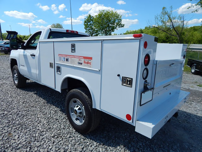 2015 Silverado 2500 Regular Cab 4x2,  Reading SL Service Body #REAZ140825 - photo 4
