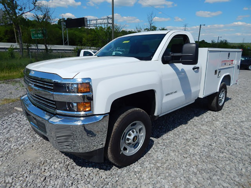 2015 Silverado 2500 Regular Cab 4x2,  Reading Service Body #REAZ140825 - photo 5