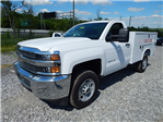 2015 Silverado 2500 Regular Cab 4x2,  Reading SL Service Body #REAZ140825 - photo 5