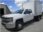 2015 Silverado 3500 Double Cab 4x4,  Hercules Dry Freight #Z545808 - photo 1