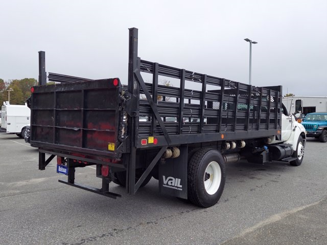 2011 Ford F-650 Regular Cab 4x2, Stake Bed #BV595689 - photo 1