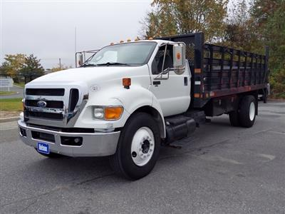 2011 Ford F-650 Regular Cab 4x2, Stake Bed #BV595689 - photo 4
