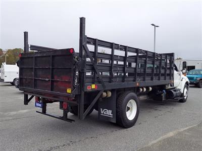 2011 Ford F-650 Regular Cab 4x2, Stake Bed #BV595689 - photo 2