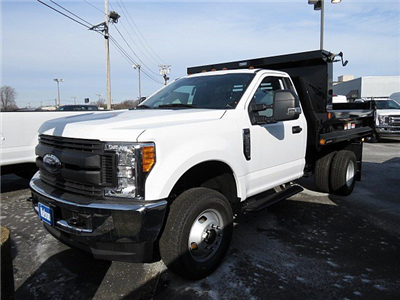 2017 F-350 Regular Cab DRW 4x4, Reading Marauder SL Dump Dump Body #HED53855 - photo 1