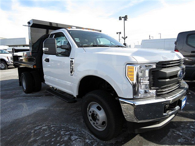 2017 F-350 Regular Cab DRW 4x4, Reading Marauder SL Dump Dump Body #HED53855 - photo 4