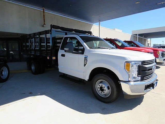 2017 F-350 Regular Cab DRW 4x2,  Knapheide Stake Bed #HED88128 - photo 4