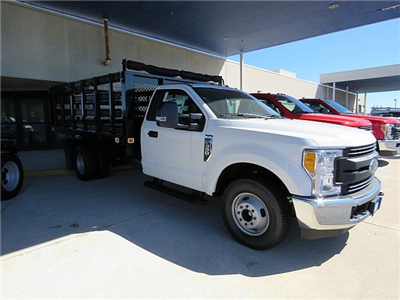 2017 F-350 Regular Cab DRW, Knapheide Value-Master X Stake Bed #HED88128 - photo 4
