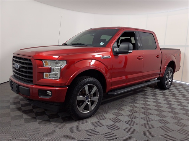 2017 Ford F-150 SuperCrew Cab 4x4, Pickup #HFC76193 - photo 1