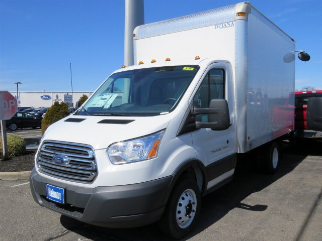 2018 Transit 350 HD DRW 4x2,  Dejana Truck & Utility Equipment Cutaway Van #JKA33198 - photo 3