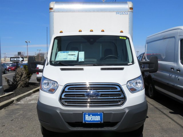 2018 Transit 350 HD DRW 4x2,  Dejana Truck & Utility Equipment Cutaway Van #JKA33198 - photo 4