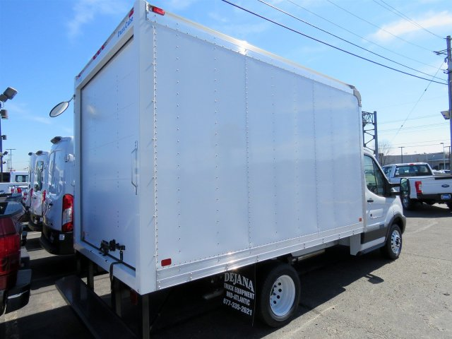 2018 Transit 350 HD DRW 4x2,  Dejana Truck & Utility Equipment Cutaway Van #JKA33198 - photo 2
