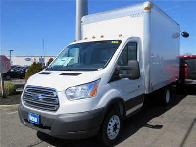 2018 Transit 350 HD DRW 4x2,  Dejana Truck & Utility Equipment DuraCube Cutaway Van #JKA33198 - photo 3