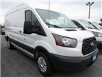 2018 Transit 250 Med Roof 4x2,  Empty Cargo Van #JKA33945 - photo 1