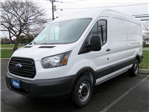2018 Transit 250 Med Roof 4x2,  Empty Cargo Van #JKA40935 - photo 1