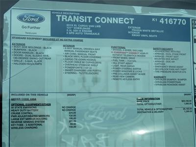 2019 Transit Connect 4x2,  Empty Cargo Van #K1416770 - photo 9