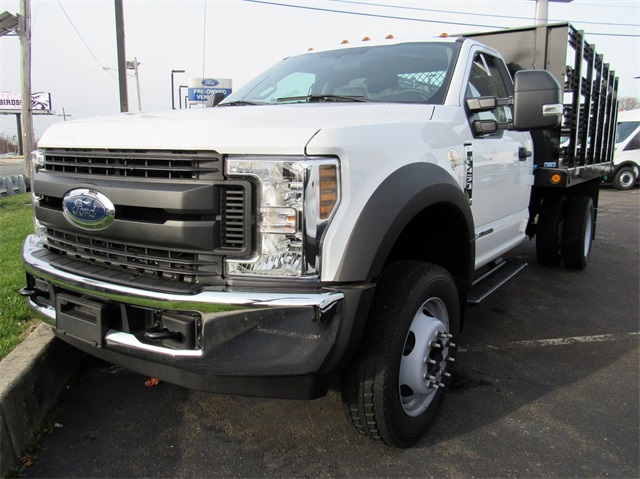2019 Ford F-450 Regular Cab DRW 4x2, Reading Stake Bed #KDA02662 - photo 1