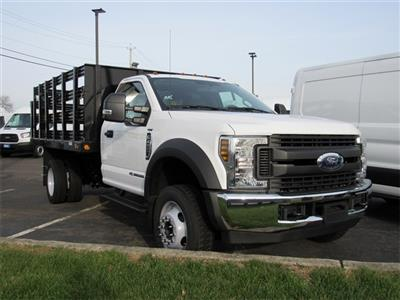 2019 F-450 Regular Cab DRW 4x2,  Reading Steel Stake Bed #KDA02662 - photo 4