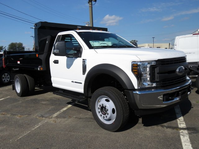 2019 F-550 Regular Cab DRW 4x4,  Reading Dump Body #KDA04403 - photo 4