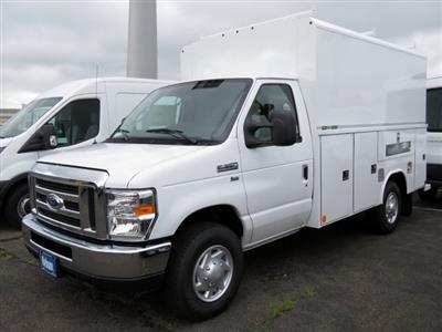 2019 E-350 4x2,  Reading Aluminum CSV Service Utility Van #KDC00424 - photo 1
