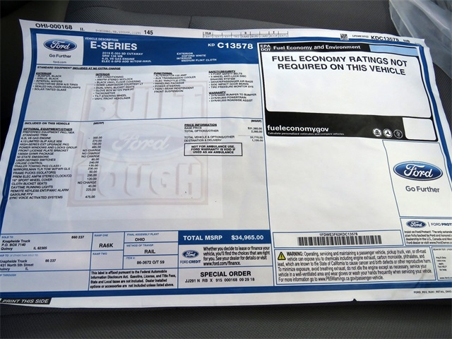 2019 E-350 4x2,  Knapheide KUV Service Utility Van #KDC13578 - photo 8