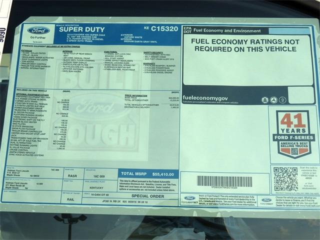 2019 F-350 Super Cab DRW 4x4,  Cab Chassis #KEC15320 - photo 8