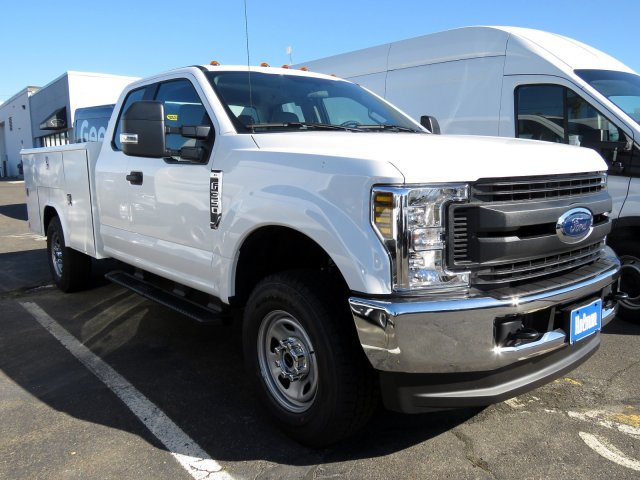2019 F-350 Super Cab 4x4,  Reading Service Body #KEC58721 - photo 4