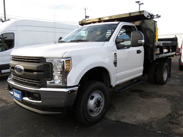 2019 F-350 Regular Cab DRW 4x4,  Reading Dump Body #KED03148 - photo 1