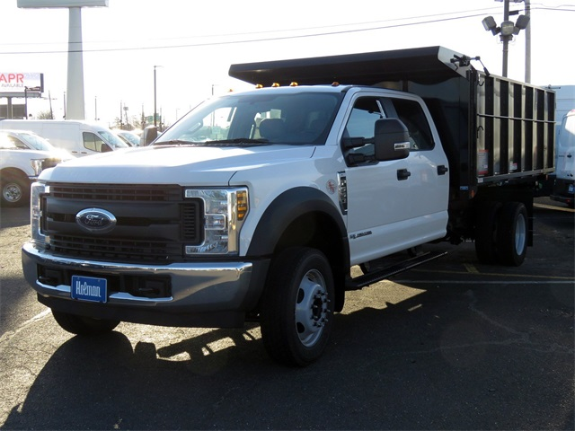 2019 F-550 Crew Cab DRW 4x2,  Reading Landscaper SL Landscape Dump #KED72253 - photo 3