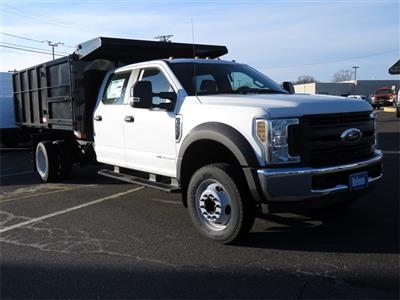 2019 F-550 Crew Cab DRW 4x2,  Reading Landscaper SL Landscape Dump #KED72253 - photo 1