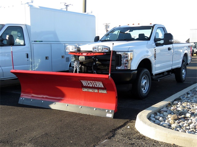 2019 F-250 Regular Cab 4x4,  Western Snowplow Pickup #KED97929 - photo 1