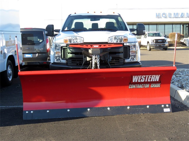2019 F-250 Regular Cab 4x4,  Western Snowplow Pickup #KED97929 - photo 3