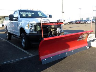 2019 F-250 Regular Cab 4x4,  Western Snowplow Pickup #KED97929 - photo 4