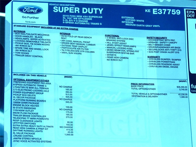 2019 F-250 Super Cab 4x4,  Knapheide Aluminum Service Body #KEE37759 - photo 10