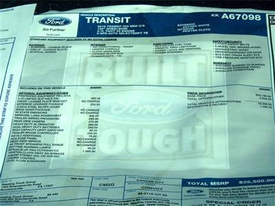 2019 Transit 350 4x2,  Reading Aluminum CSV Service Utility Van #KKA67098 - photo 9