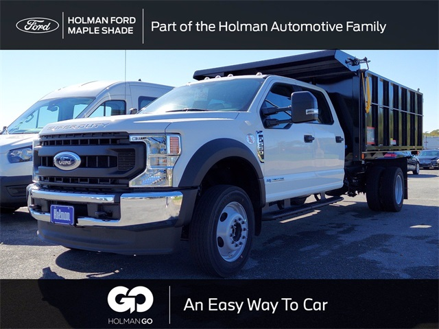 2020 Ford F-550 Crew Cab DRW 4x4, Landscape Dump #LEE11902 - photo 1