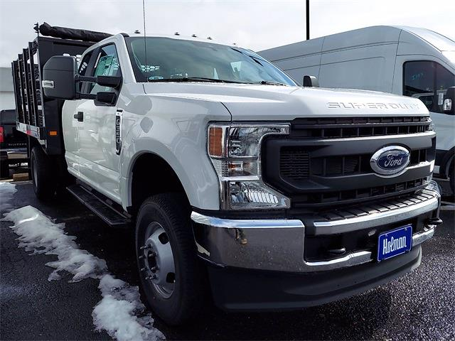 2020 Ford F-350 Super Cab DRW 4x4, Knapheide Value-Master X Stake Bed #LEE90182 - photo 4
