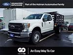 2020 Ford F-350 Super Cab DRW 4x4, Knapheide Value-Master X Stake Bed #LEE90182 - photo 1