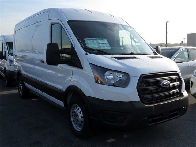 2020 Ford Transit 250 Med Roof AWD, Empty Cargo Van #LKA00565 - photo 1