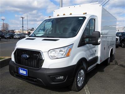 2020 Ford Transit 350 RWD, Reading Aluminum CSV Service Utility Van #LKA14152 - photo 1