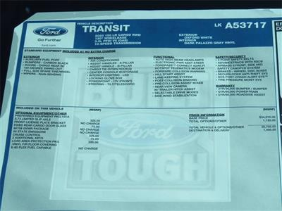 2020 Ford Transit 150 Low Roof RWD, Empty Cargo Van #LKA53717 - photo 10