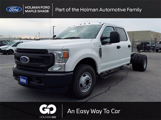 2021 Ford F-350 Crew Cab DRW 4x2, Cab Chassis #MED26129 - photo 1