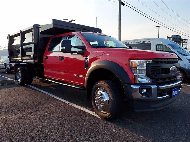 2021 F-550 Crew Cab DRW 4x4,  Rugby Landscape Dump #MED81898 - photo 3
