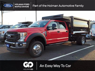 2021 F-550 Crew Cab DRW 4x4,  Rugby Landscape Dump #MED81898 - photo 1