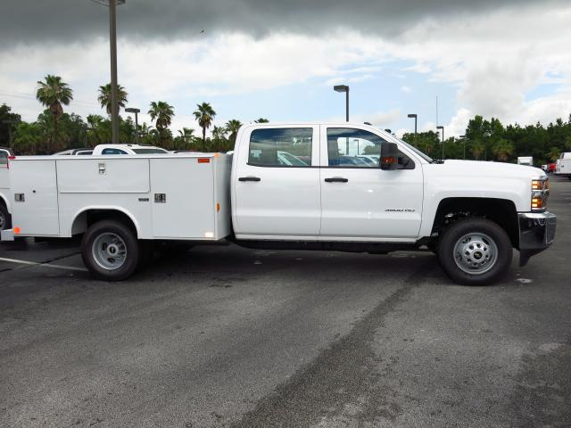 2016 Silverado 3500 Crew Cab 4x4, Reading Service Body #GF181190 - photo 5