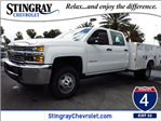 2016 Silverado 3500 Crew Cab 4x4, Reading Service Body #GF181190 - photo 1